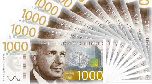 10000 kronor