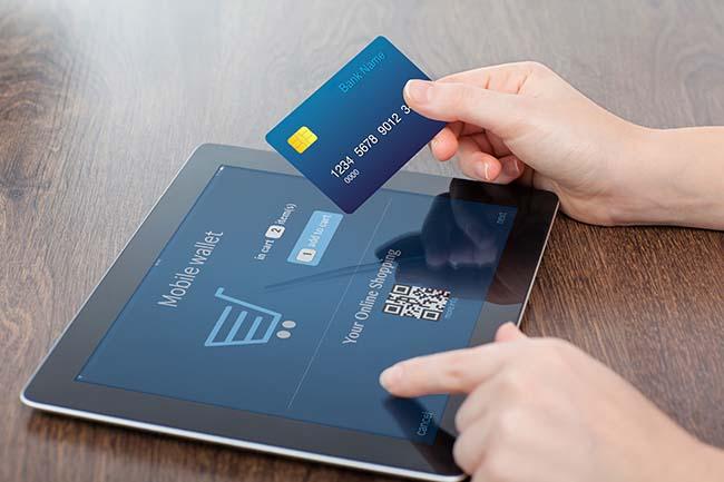 betala på nätet med e-kort